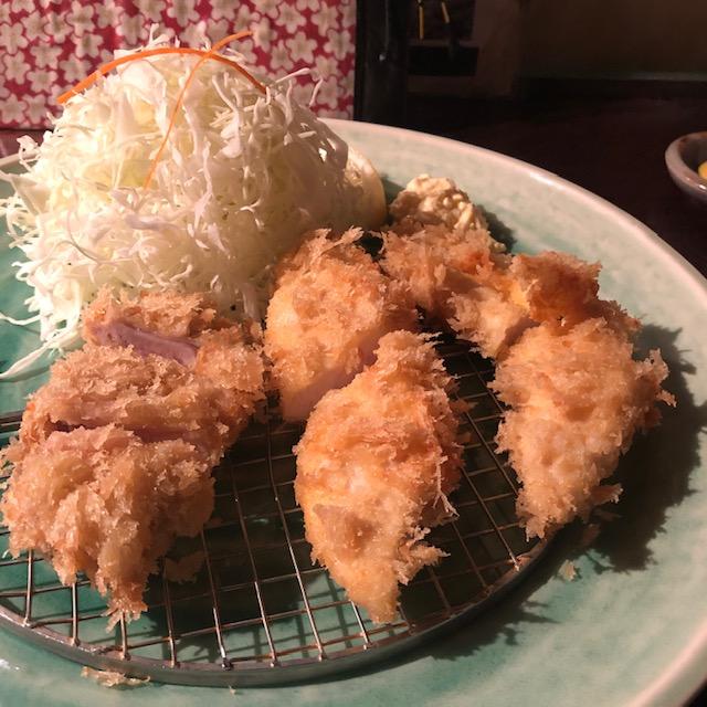 地鶏フライ(とんかつの神楽坂あげづき)
