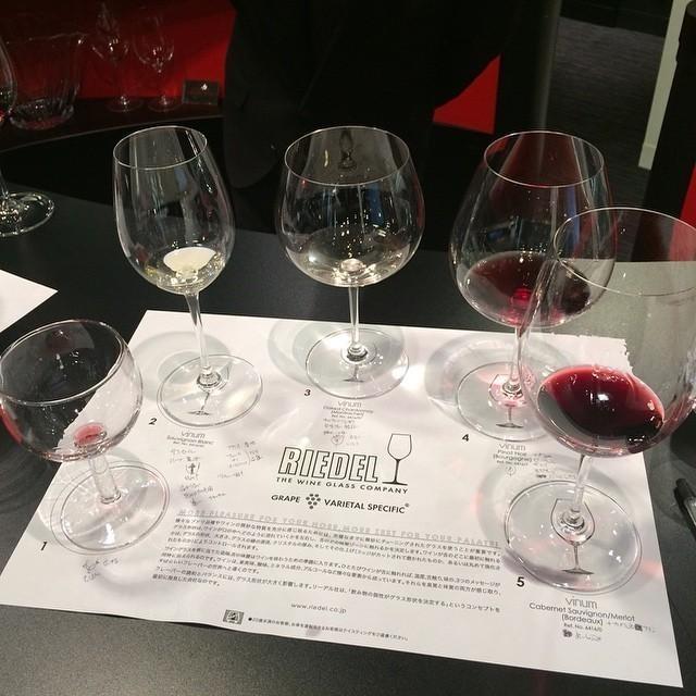 リーデルのグラス・テイスティング・セミナーで学ぶワインを美味しく飲む方法 @ 青山一丁目