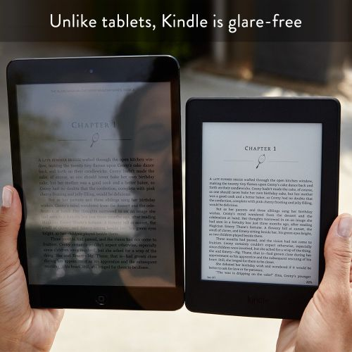 Amazon Kindle(アマゾンキンドル)な太陽光の下でも反射しない/紙の本のように読みやすい