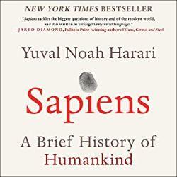 中級者におすすめのAudible(オーディブル)Sapiensサピエンス全史