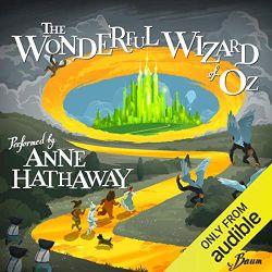 中級者向けおすすめAudibleオーディブル_The Wonderful Wizard of Oz オズの魔法使い アン・ハサウェイ