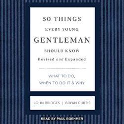 初心者におすすめのAudible(オーディブル)50 Things Every Young Gentleman Should Know紳士の50