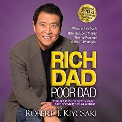 初心者におすすめのAudible(オーディブル)RichDad Poor Dad金持ち父さん貧乏父さん
