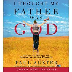 中級者におすすめのAudibleオーディブル_I Thought My Father Was God