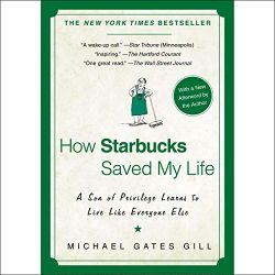 初級者におすすめのAudibleオーディブル_How Starbucks Saved My Life ラテに感謝