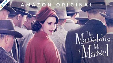 アマゾンプライムビデオのおすすめドラマ_マーベラス・ミセス・メイゼル The Marvelous Mrs. Maisel