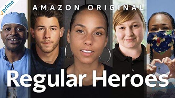 英語字幕ありのアマゾンプライムビデオRegular Heroes真の英雄たち ~新型コロナウイルスと戦う人々~