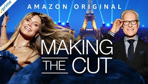 英語字幕ありのアマゾンプライムビデオMaking The Cutメイキング・ザ・カット~世界的デザイナーを目指して~