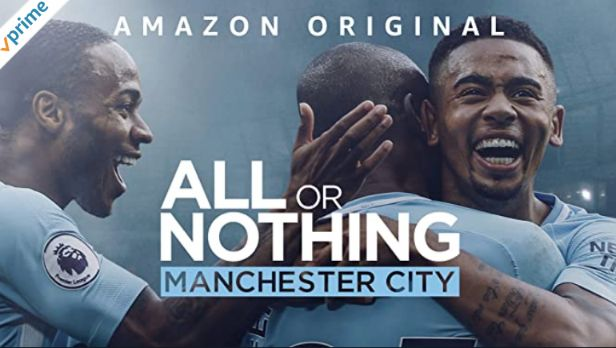 英語字幕ありのアマゾンプライムビデオAll or Nothing Manchester Cityオール・オア・ナッシング~マンチェスター・シティーの進化~