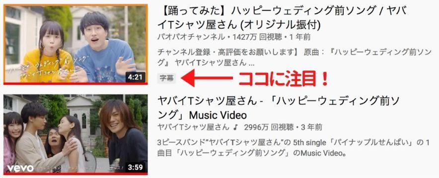 日本の人気YouTuberの動画、英語学習に役立つ説!英語字幕あり動画を見つけるコツ