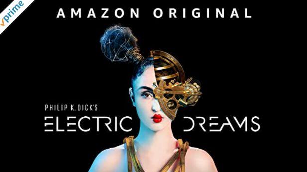 英語字幕ありのアマゾンプライムビデオElectric Dreamsフィリップ・K・ディックのエレクトリック・ドリーム