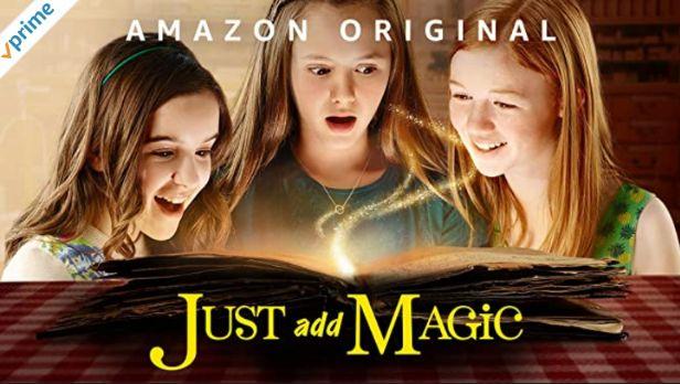 英語字幕ありのアマゾンプライムビデオJust add Magicまほうのレシピ